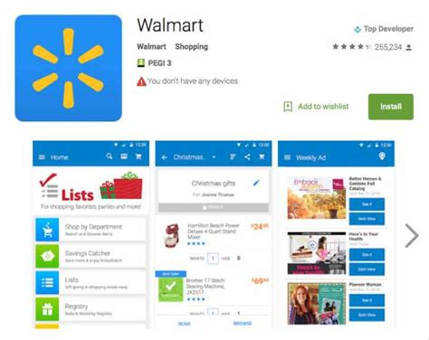 walmart app for android walmart app update prepares for cyber monday product reviews net