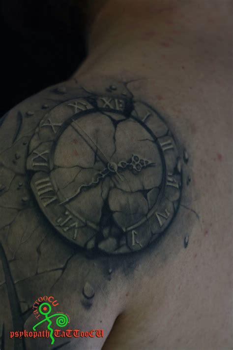 broken clock tattoo tattoos tattoocu time