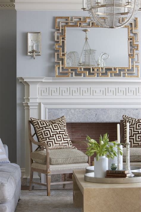 greek key home decor 89 best images about fireplace french country on pinterest