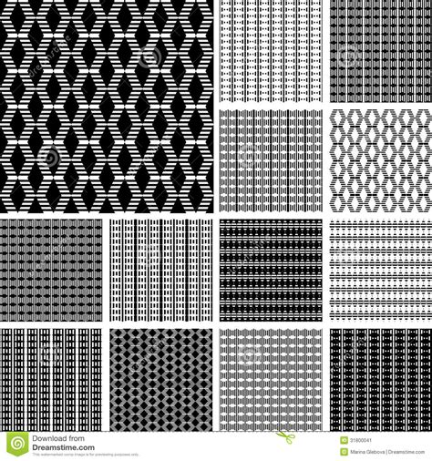 pattern in art elements striped textures with diamond elements stock image
