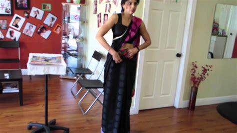 how to make saree draping saree draping tutorial youtube