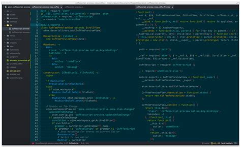 format html code in atom 7 atom add ons for running code and previewing changes