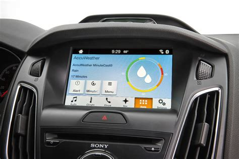 ford accuweather keep drivers weather ready with hyper