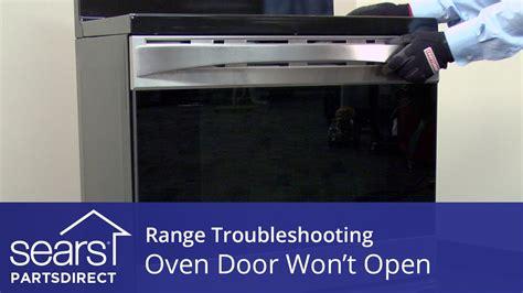 Door Won T All The Way by Oven Door Won T Open Troubleshooting Door Lock Problems