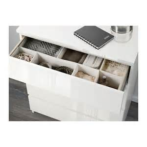 ikea schubladen ordnungssystem malm chest of 3 drawers white high gloss 80x78 cm ikea