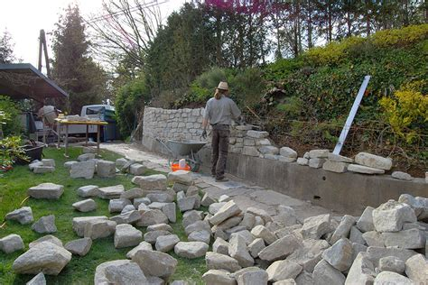 steinmauer garten steinmauer im garten steinmauer im garten m belideen