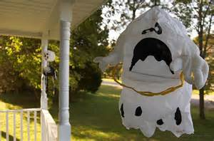 How To Make Halloween Decorations At Home by Simple Halloween Ghost Decorations You Can Make At Home