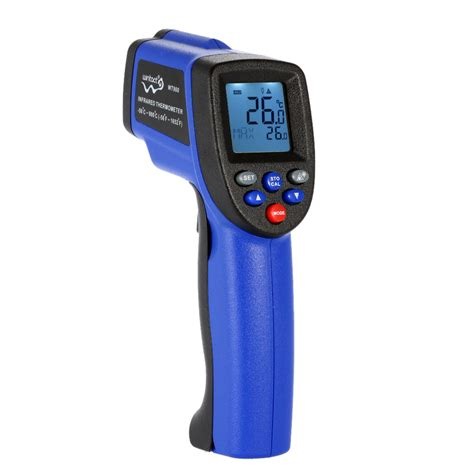 Thermometer Non Contact 50 900 degrees digital lcd laser ir infrared thermometer