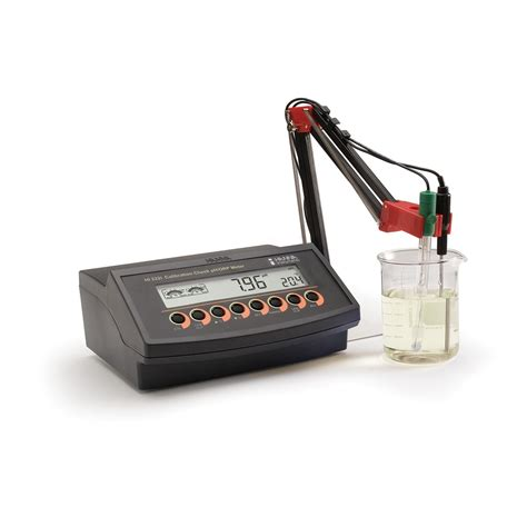 bench com ph benchtop ph mv meter with cal check hi2221 hanna