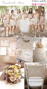 wedding color ideas neutral wedding colours palette ideas gold weddings