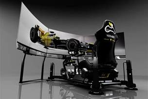Laptop Desk On Wheels Best Racing And Flight Simulator Cockpits High Ground Gaming