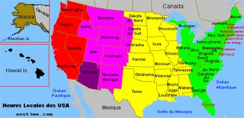 daylight savings map usa standard and daylight saving time in united states of