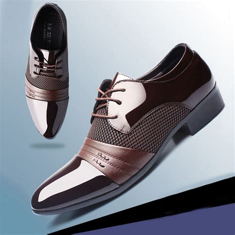 formal shoes leather new dress oxfords business dress