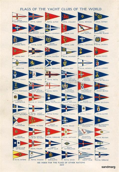 boat flags chart 108 best nautical images on pinterest nautical sailor