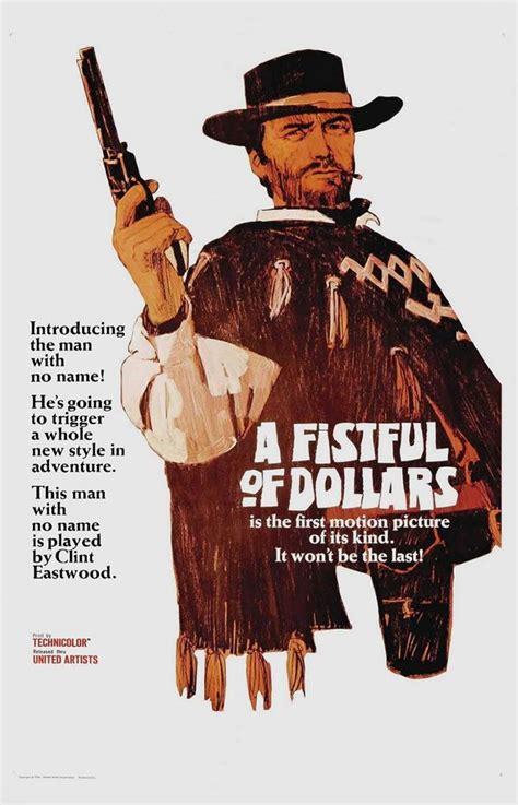 film western un dolar gaurit western movie posters spaghetti western movie posters
