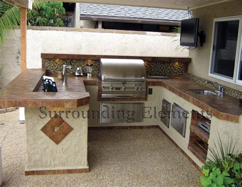 Glass Backsplash Ideas For Kitchens by Barbecue Islands By Surrounding Elements Custom Outdoor