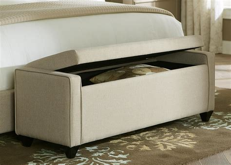 modern bedroom storage benches