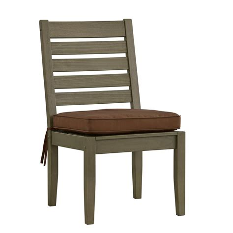 Grey Wooden Dining Chair Admiral Homesullivan Verdon Gorge Gray Wood Modern Outdoor Dining