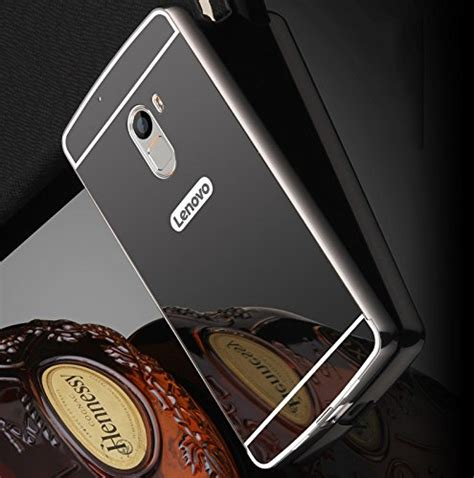 Bumper Mirror Lenovo K5 Note buy ae tm luxury metal bumper acrylic mirror back cover for lenovo a7010 lenovo k4