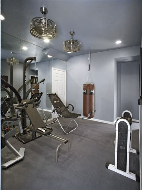 home gym lighting design 58 well equipped home gym design ideas digsdigs