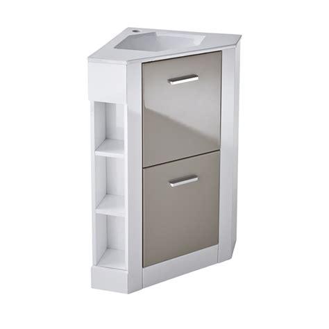 Meuble Angle Toilette by Armoire Toilette Angle Topiwall