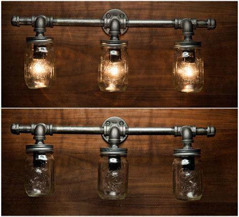 Rustic Bathroom Vanity Light Fixtures by Best 25 Rustic Vanity Lights Ideas On Vanity