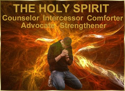 the holy spirit the comforter the holy spirit is your counselor amazing love