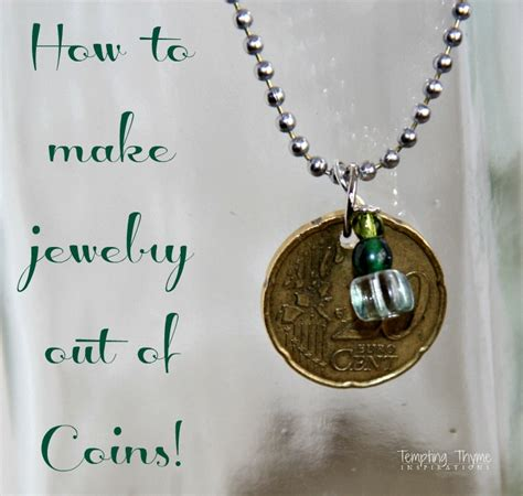 how to make jewelry out of coins turning coins into beautiful jewelry diy momento
