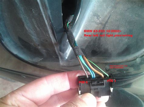 bmw x5 tail light removal bmw x5 wiring harness problems 2003 e53 39 wiring