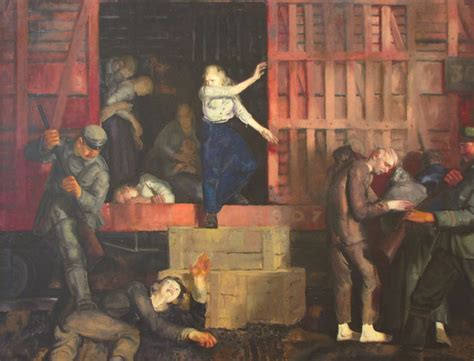 The Of by The War Series By George Bellows My Daily Display