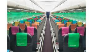 Modern Cabin Interior Fl Technics To Design And Retrofit Airbus A320s For Small