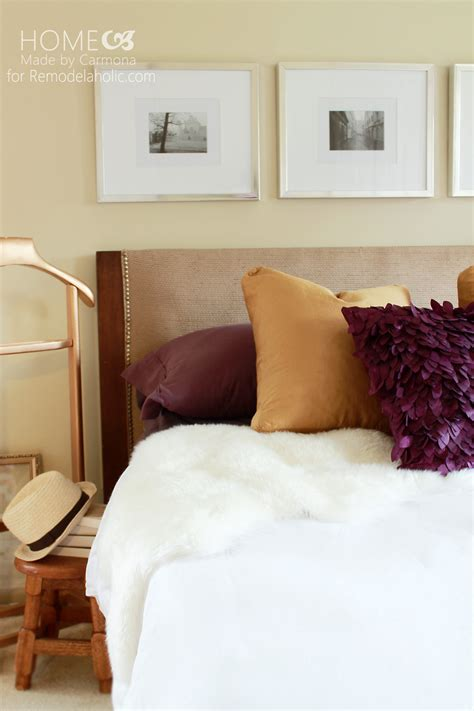 A Door Into A Headboard by Remodelaholic How To Turn A Door Into A Stylish Headboard