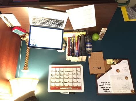 Stage Managers Desk by A Day In The Of An Unemployed Stage Manager