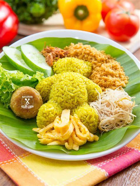 nasi kuning   kuliner kelapa gadingkkg