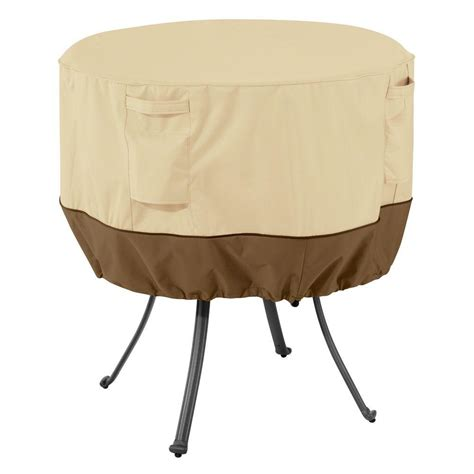 Classic Accessories Veranda Large Round Patio Table Cover Patio Table Accessories
