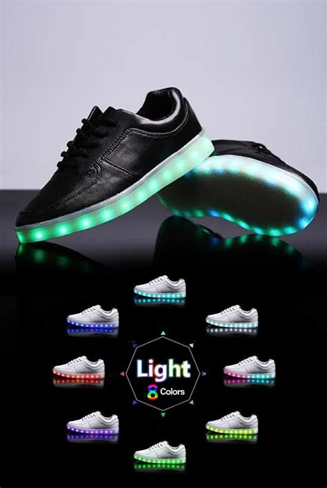 light shoes for light up shoes black