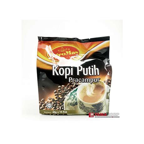 Minuman Luwak White Coffee 20gr agromas white coffee premix reviews