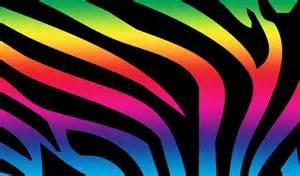 zebra print pattern print rainbow zebra 149212
