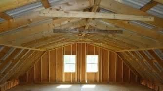 2 story barn 2nd level room