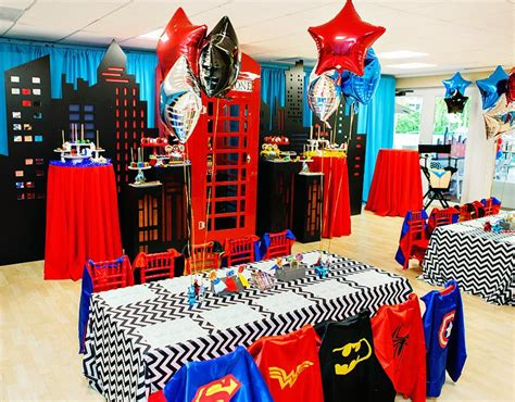 superhero themed events amazing quot calling all superheroes quot birthday party