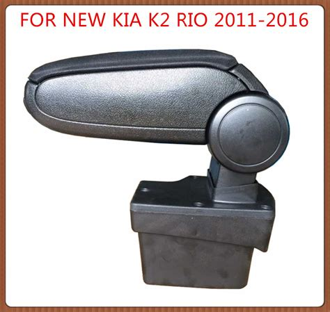 upholstery accessories free shipping for new kia k2 rio 2011 2016 car armrest car