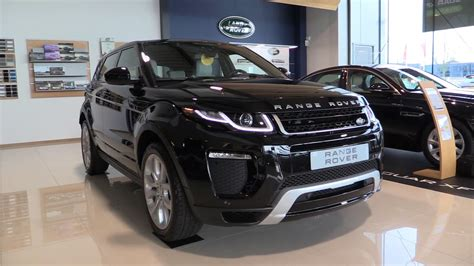 land rover black inside 2017 range rover evoque in depth review interior exterior
