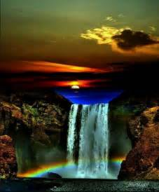 colorful waterfalls colorful waterfall waterfalls around the world