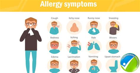 allergy symptoms allergies types symptoms causes risk factor and treatments