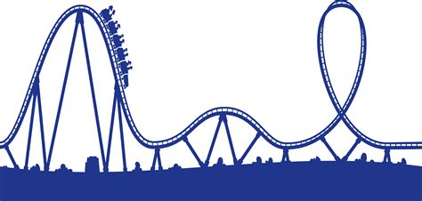 Rollercoaster Clipart roller coaster track clipart