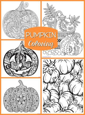 intricate pumpkin coloring pages 346 best images about free adult colouring pages on