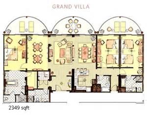 Animal Kingdom Lodge 2 Bedroom Villa Floor Plan by The Villas At Disney S Animal Kingdom Lodge