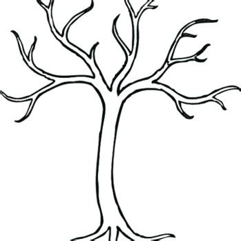 9 Best Images Of Free Printable Tree Without Leaves Tree No Leaves Clip Art Trees Without Tree Template With Leaves
