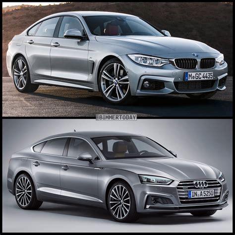 audi a5 or bmw 4 series photo comparison bmw 4 series gran coupe vs audi a5 sportback