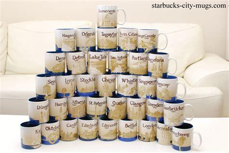 Starbucks City Mug Collection   Car Interior Design
